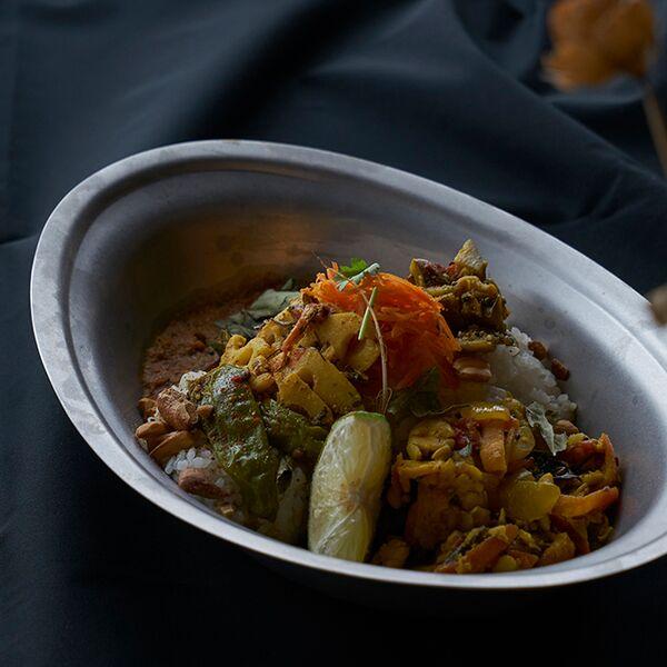 ヴィンテージイノックス カレー皿 プレート カフェレストラン