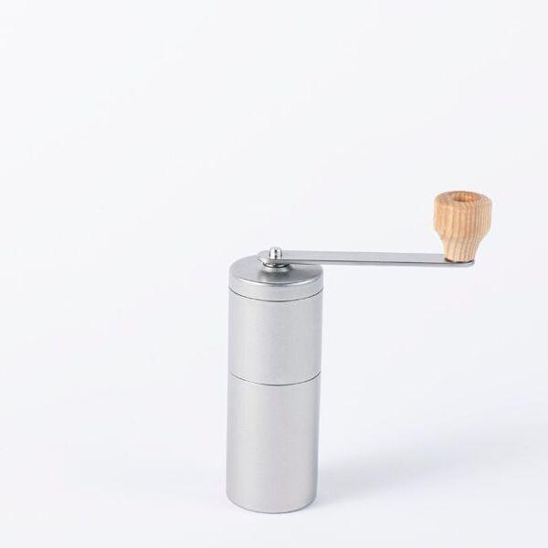 ヴィンテージイノックス コーヒーミル ハンドル式 セラミック刃