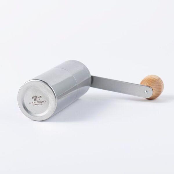ヴィンテージイノックス コーヒーミル ハンドル式 セラミック刃ヴィンテージイノックス コーヒーミル ハンドル式 セラミック刃