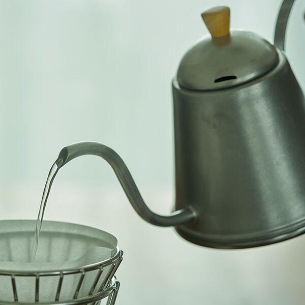 ヴィンテージイノックス バールドリップポット ティーコーヒー やかん