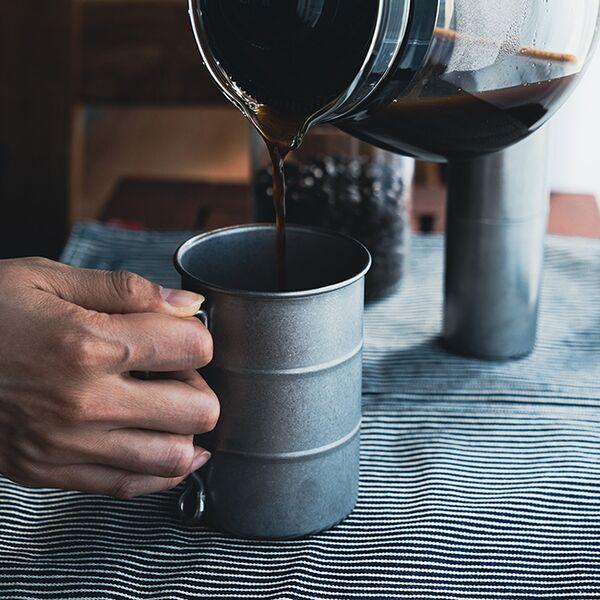 ヴィンテージイノックス ドラム缶マグ ティーコーヒー アウトドア