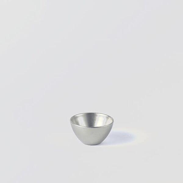 ヴィンテージイノックス バール二重ボール お皿 カフェレストラン