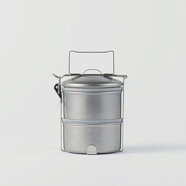 ヴィンテージイノックス ステンレスフードキャリアー お弁当箱 アウトドア